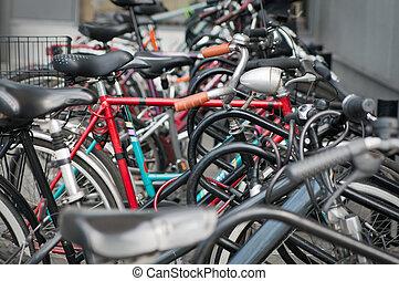 różny, rowery