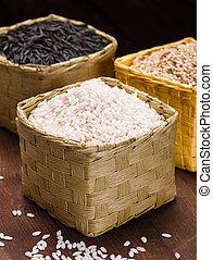 różny, ryż