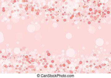różowe tło