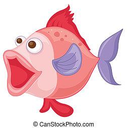 różowy, fish