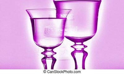 różowy, goblets
