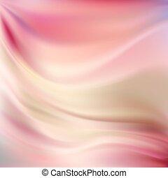różowy, jedwab, tła