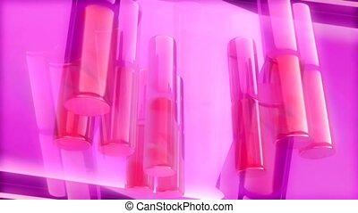 różowy, kolumny
