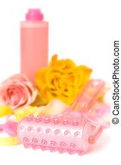 różowy, kosmetyki