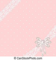 różowy, kropka polki, tło