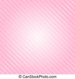 różowy, wektor, pasy, tło