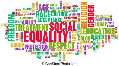 równość, towarzyski