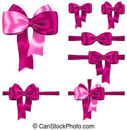 rózsaszínű, állhatatos, szalag