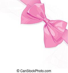 rózsaszínű, íj