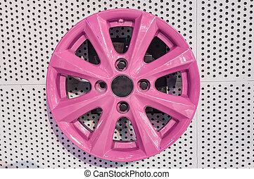rózsaszínű, ötvözet tol