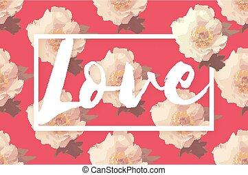 rózsaszínű, babarózsa, csokor, love., mutatós, menstruáció
