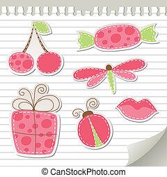 rózsaszínű, csinos, böllér