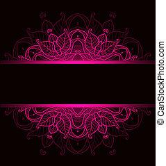 rózsaszínű, díszítés, háttér