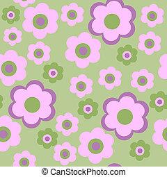 rózsaszínű, dekoratív, menstruáció, seamless, motívum