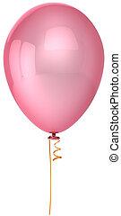 rózsaszínű, fél, balloon
