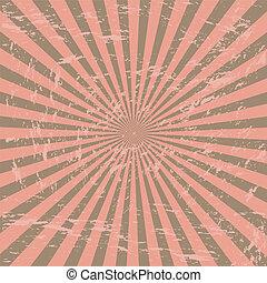 rózsaszínű, grunge, rövid napsütés