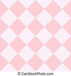 rózsaszínű, gyémánt, sakkjáték, háttér, white kosztol
