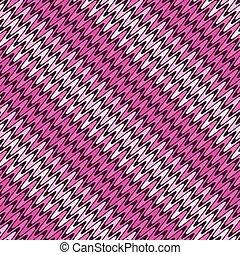 rózsaszínű, motívum, seamless, lines., átló, hullámos, csíkos