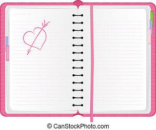rózsaszínű, napirend