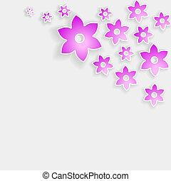 rózsaszínű, shadows, elvont, menstruáció, sarok