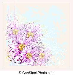 rózsaszínű virág, savanyúcukorka, harmat