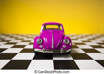rózsaszínű, volkswagen bogár