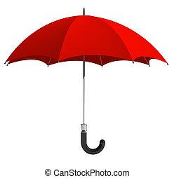 röd beskydda