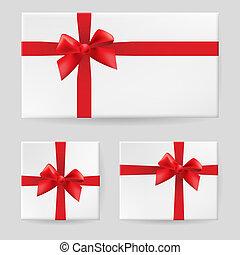 röd, gåva bocka
