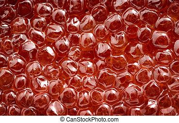 röd, kaviar