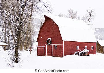 röd ladugård