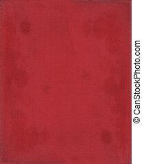 röd, papper, struktur