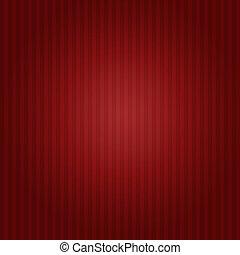röd, randig fond