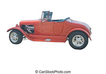 röd, roadster
