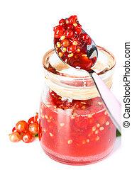 röd strömning, marmelad