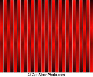 röd, stripes