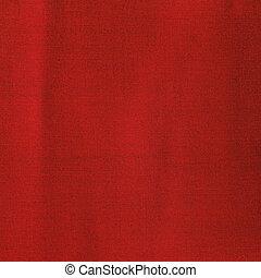 röd, tyg