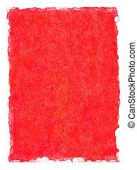 röd, vattenfärg, bakgrund