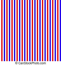 röd vita blå, stripes, seamless