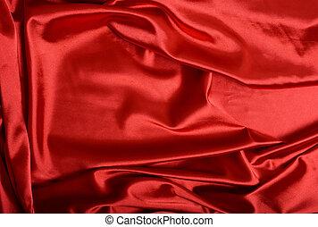 röda siden, bakgrund
