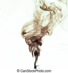 röka, från, cigaret