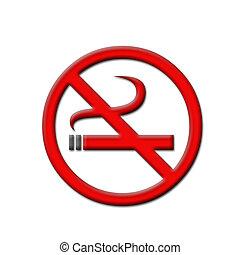 rökning, nej