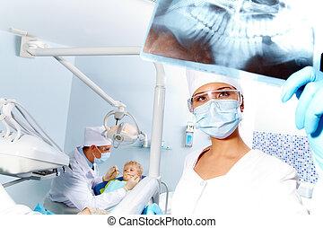 röntgenaufnahme, photographie