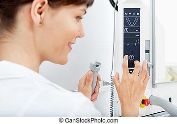 röntgenstråle maskin, specificera