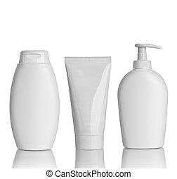 rör, omsorg, behållare, hygien, hälsa, skönhet