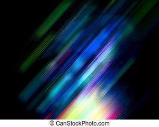rörelse, abstrakt, färgrik, bakgrund