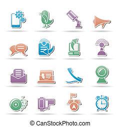 rörlig telefonera, meddelande ikon