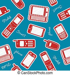 rörlig telefonerar, smartphones