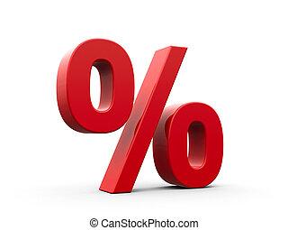 rød, cents per