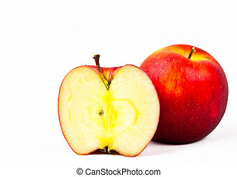 rødt æble, afsondre