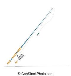 rúd, halászat